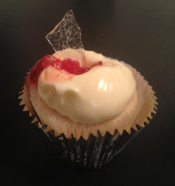 Broken Glass Cupcake