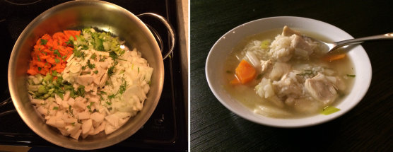 Homemade Chicken Noodle Soup