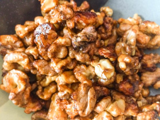 Honey Roasted Walnuts