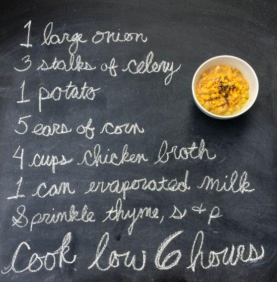 Corn Chowder - damndelish2