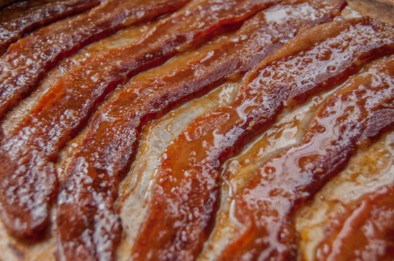 Maple beer glazed bacon_damndelish