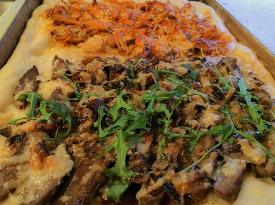 Steak Pizza_damndelish